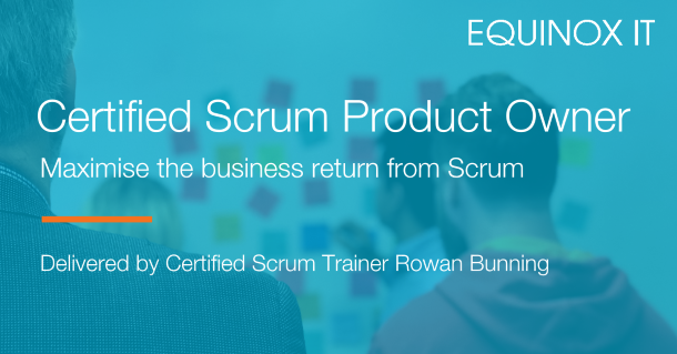 Certified Scrum Product Owner Rowan Bunning