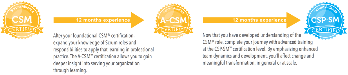 The ScrumMaster's path to CSP